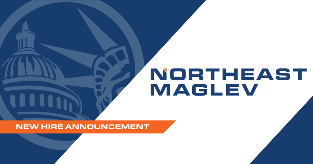 Graphic for Northeast Maglev New Employee Announcement