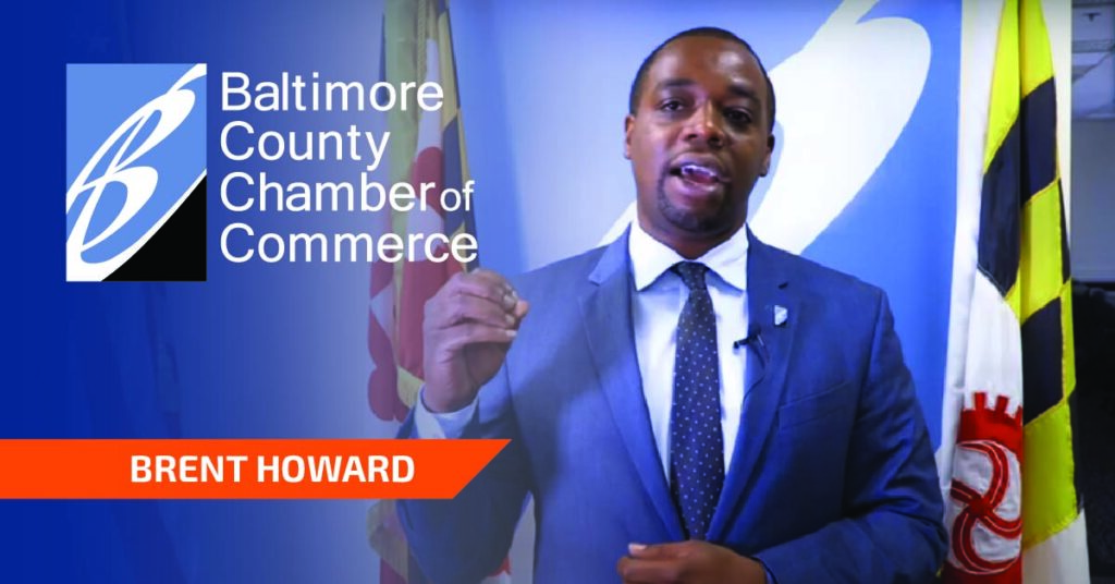 Photograph of Brent Howard, President and CEO of Baltimore County Chamber of Commerce